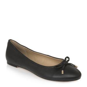 ⬇️Long Tall Sally Zita Bow Leather Ballerina Flats
